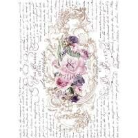 Shabby World Redesignwithprima Transfer Floral Poems