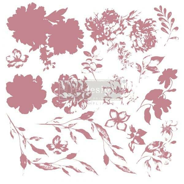 ReDesignwithprima Stempel Sweet Blossoms Shabby World