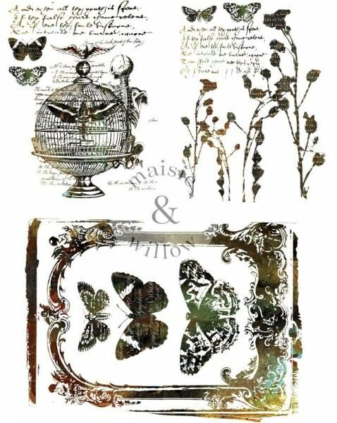 ReDesign Steampunk 2 Transfer Shabby World