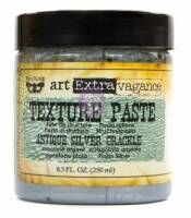 ReDesign Texture Paste silver Crackle Kreidefarben Shabby World